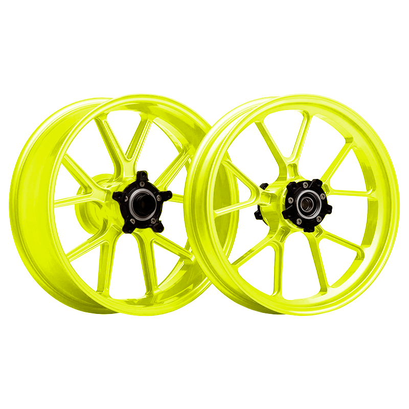 Yellow Fluor wheel