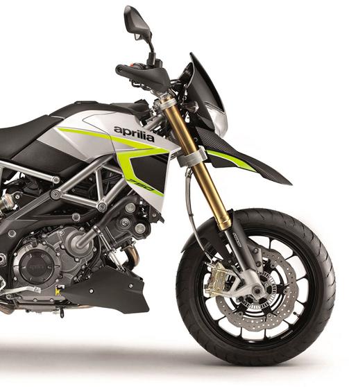 Amarillo Brillante Motocicleta Moto Llanta Decal Accesorio Pegatinas para Aprilia Dorsoduro