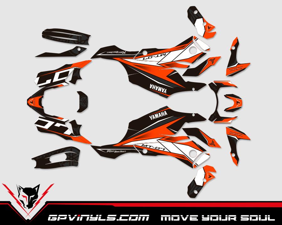 Kit Adhesivos Yamaha Mt 07 Gpvinyls