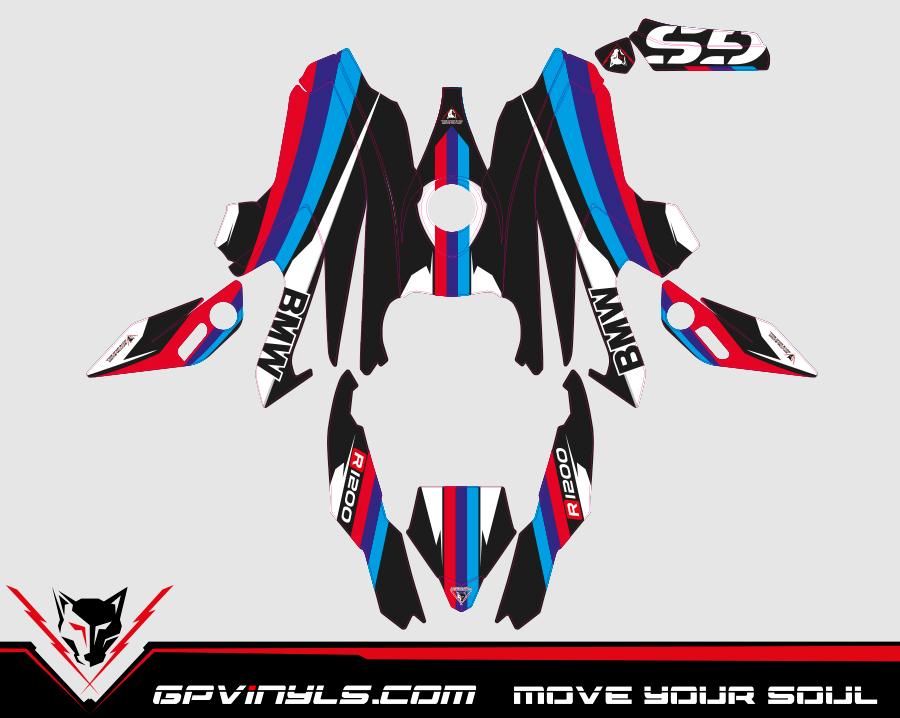 Kit Adhesivos Bmw R1200gs Gpvinyls
