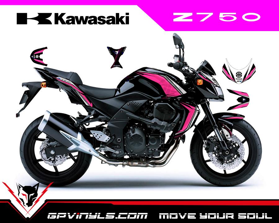 Kit Adhesivos Kawasaki Z750 Gpvinyls
