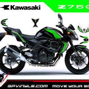 Vinilos kawasaki z750