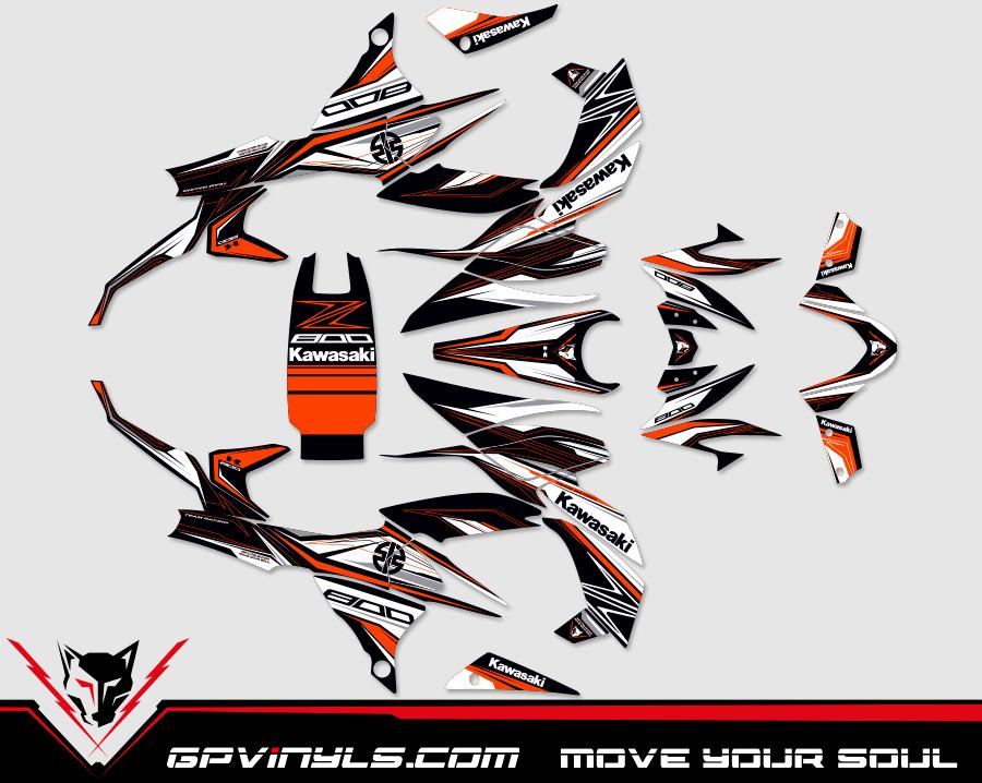 Kit Adhesivos Kawasaki Z800 Gpvinyls