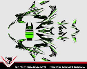 pegatinas para moto Kawasaki z800