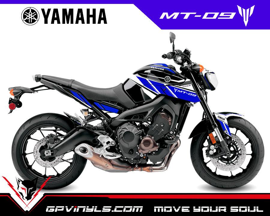 Graphic Decals Yamaha Mt 09 2014 2016 Gpvinyls
