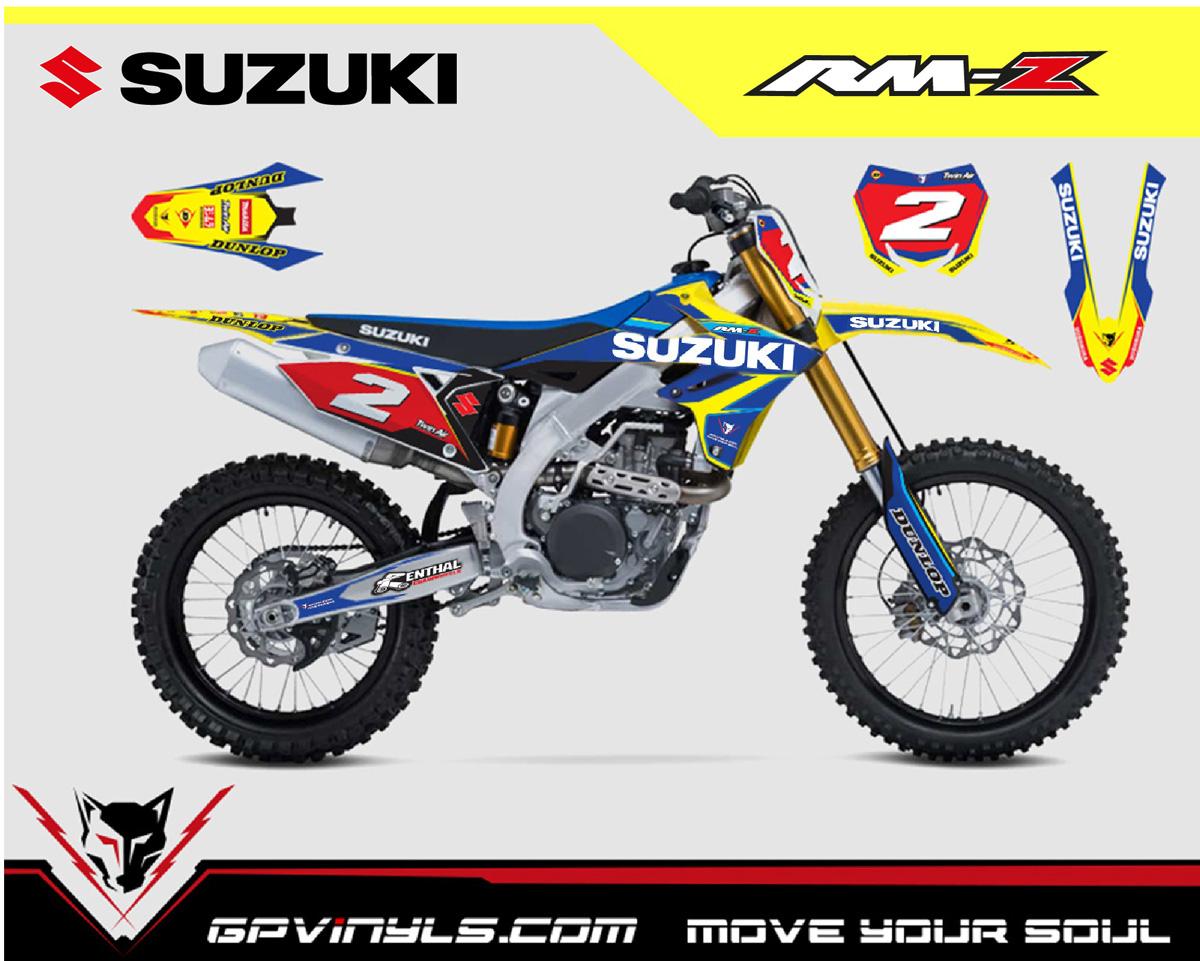 Graphic Decals Suzuki Rmz 450 Gpvinyls