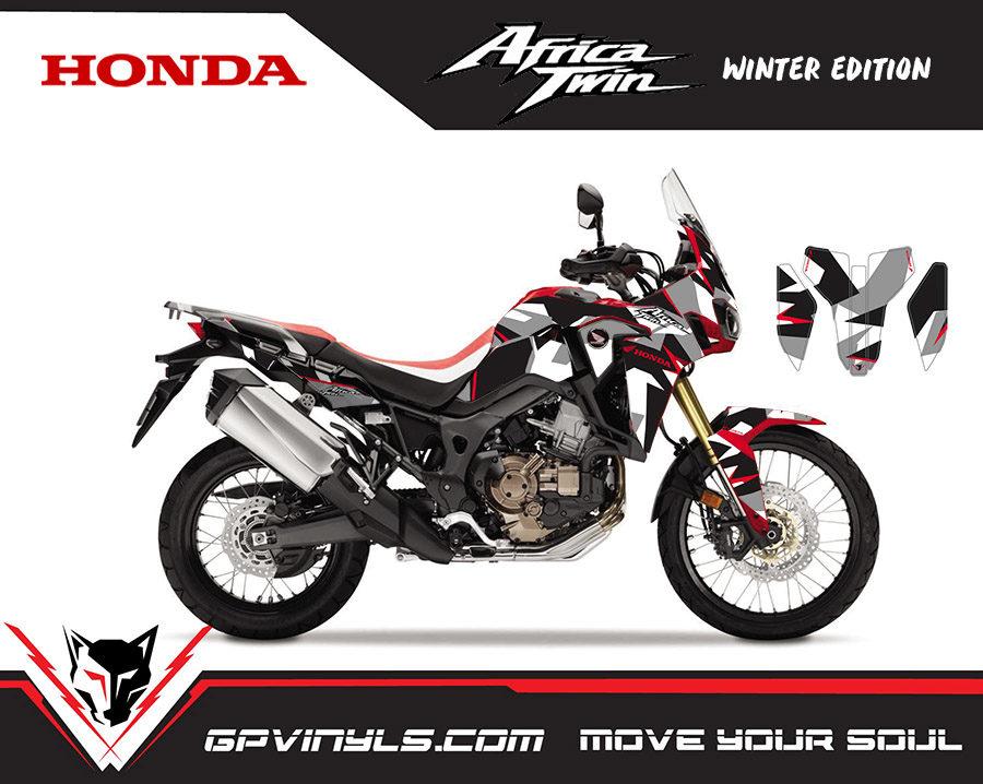 Graphic Decals Honda Africa Twin Gpvinyls