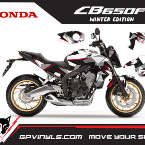 Honda cb 650f decals
