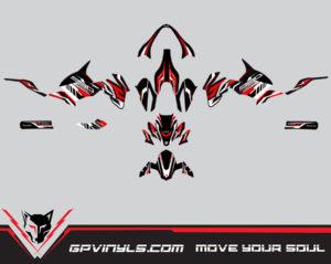 Graphic Decals Kawasaki Z900 Quot Red Edition Quot Gpvinyls