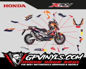 Kit Adhesivos Honda X Adv Quot Repsol Quot Gpvinyls