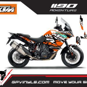 Stickers Ktm 1190 adventure