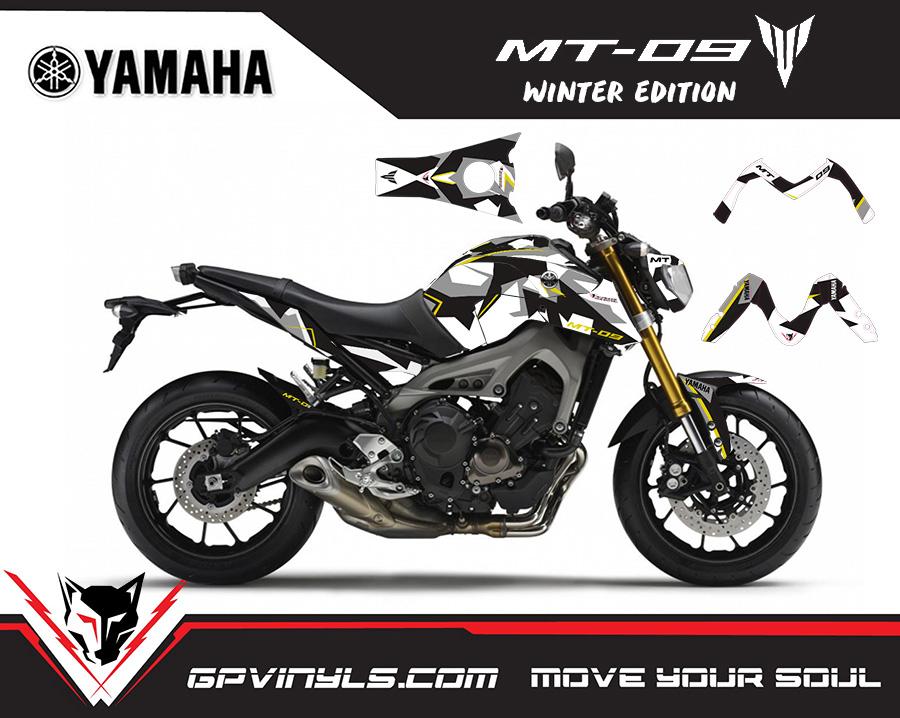 Graphic Decals Yamaha Mt 09 Quot Winter Quot Gpvinyls
