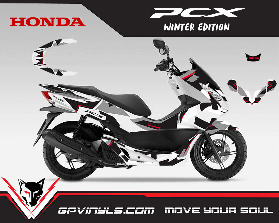 Graphic Decals Honda Pcx Quot Repsol Quot Gpvinyls