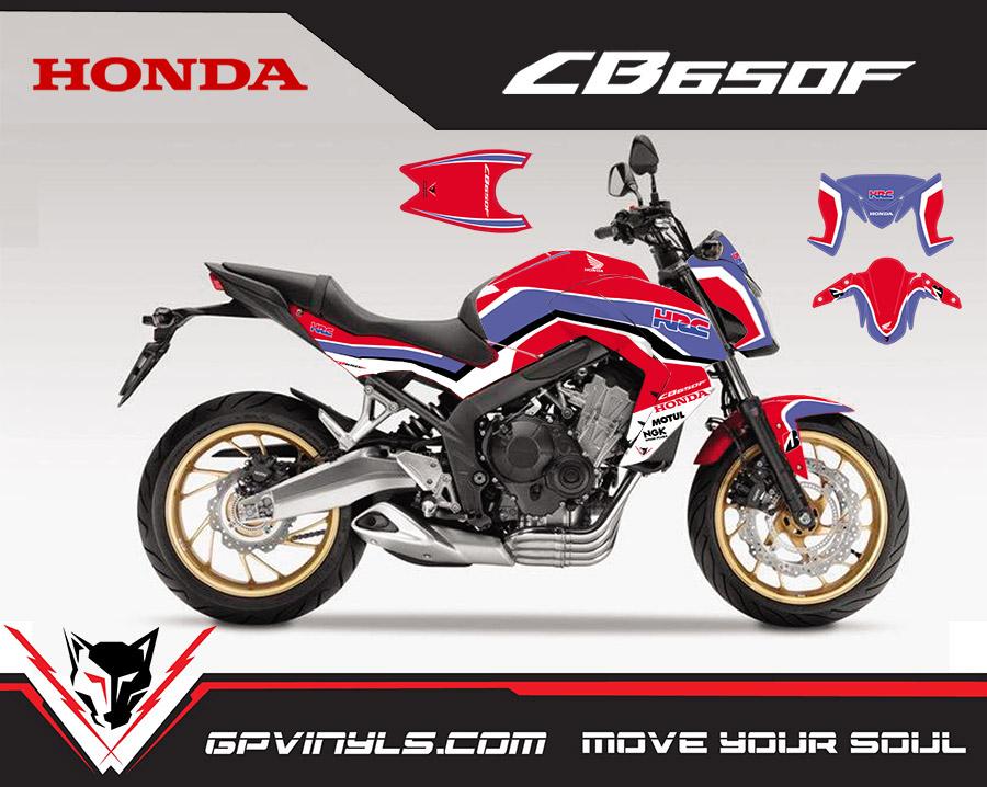 Graphic Decals Honda Cb650f Gpvinyls