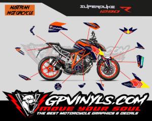 Graphic Decals Ktm Superduke 1290 Gpvinyls