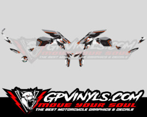Kit Adhesivos Ktm Superduke 1290 Quot Winter Quot Gpvinyls