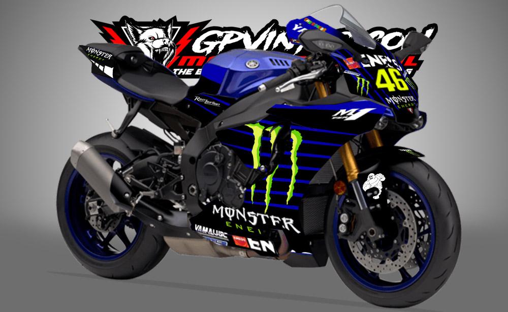 Kit Adhesivos Yamaha R1 Motogp