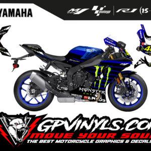 Vinilos yamaha r1 motogp