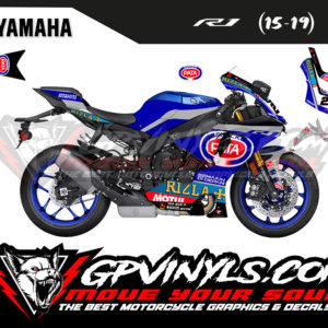 Vinilos yamaha r1 2019 sbk