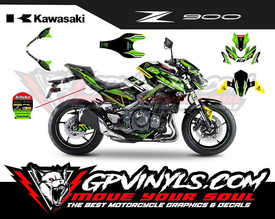 vinilos z cup kawasaki z900