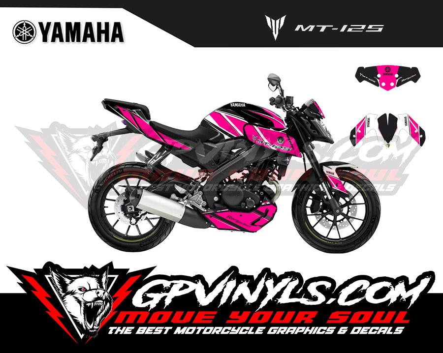 Graphics Yamaha Mt 125 Quot Anniversary Quot Gpvinyls