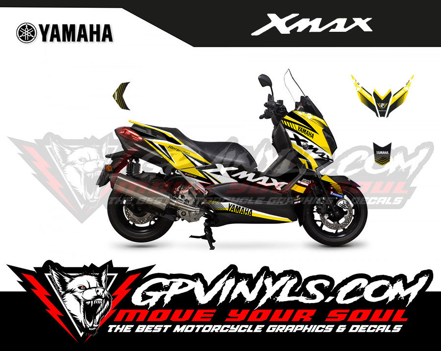Graphic Decals Yamaha Xmax Gpvinyls
