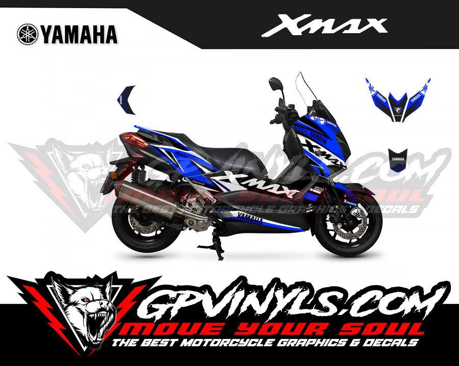 Graphic Decals Yamaha Xmax Gpvinyls