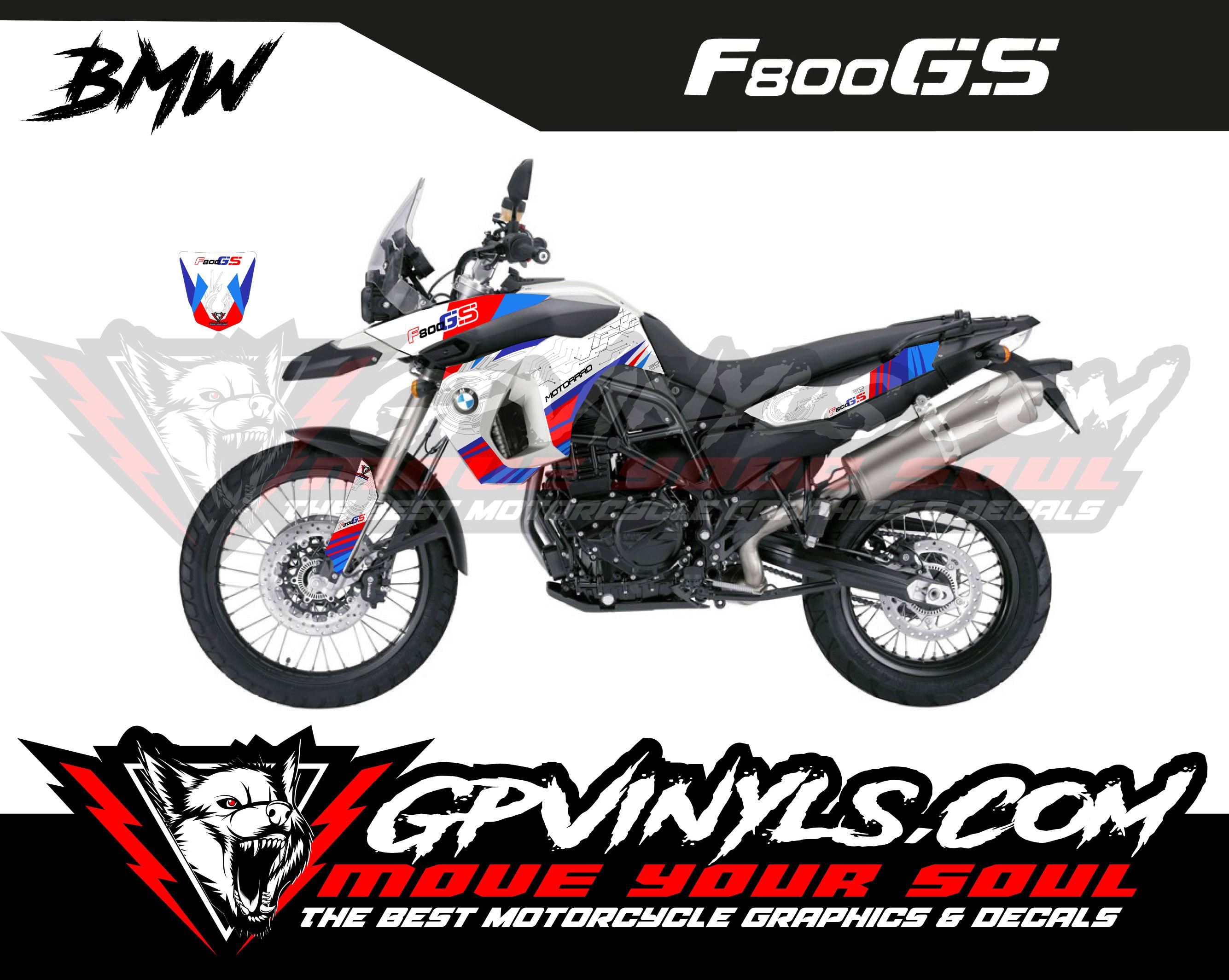Graphic Decals Bmw F 800 Gs Gpvinyls