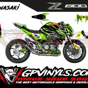 Kit vinilos gráficos z800 zcup