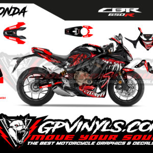 Decals kit cbr 650 r