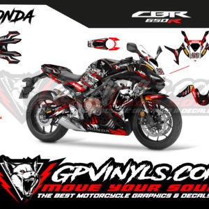 Graphic decals cbr 650r deco