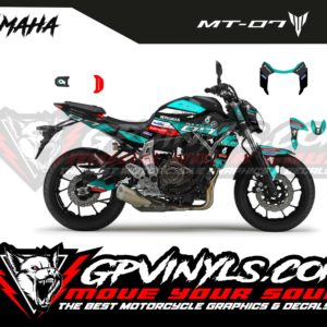 Decals mt 07 petronas