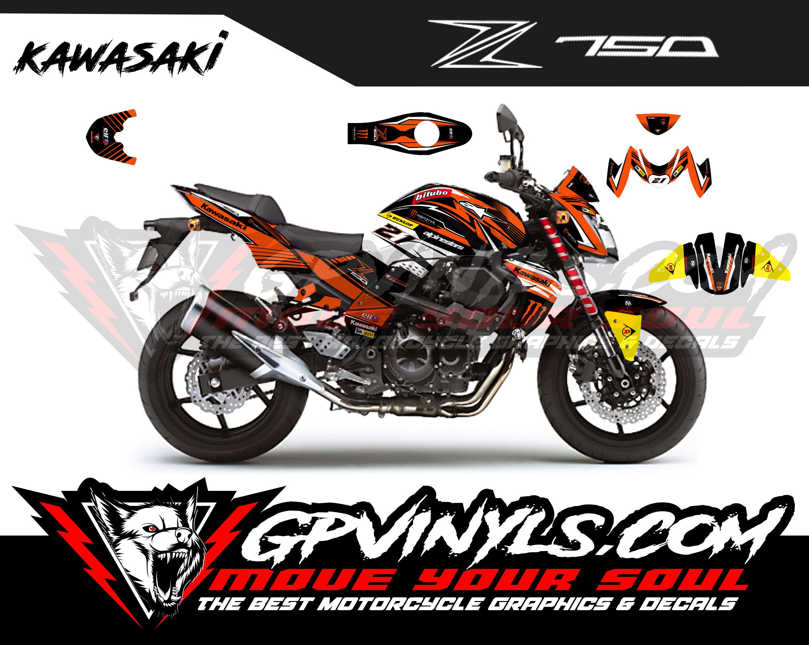 Cupula deportiva Ermax 29 cm Kawasaki Z750 07-12 | Nilmoto