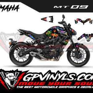 Kit adhesivos yamaha mt 09