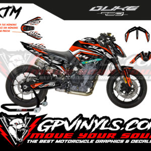 Kit adhesivos duke 790