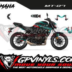 Decals yamaha mt 07