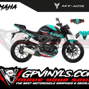 Decals stickers mt 125