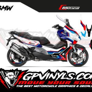 Kit vinilos c650 sport