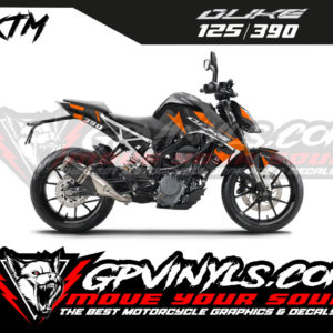 Kit adhesivos KTM DUKE 125